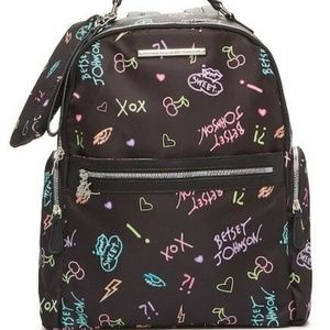 Betsey Johnson XOX Backpack & Zip Pouch Set